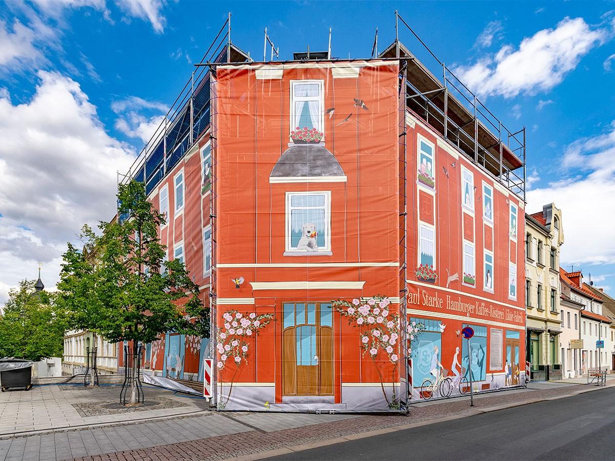 Baumarketing, Bauplane, Architekturillustration - enders Marketing