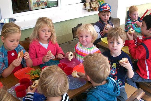 Agentur spendiert Pfannkuchen