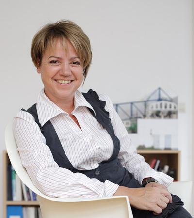 Geschäftsführerin Iris Palme