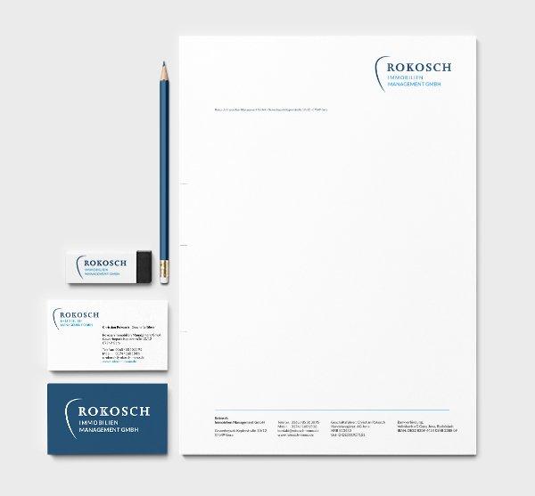 Gestaltung Geschäftspapier