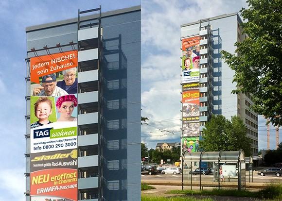 Werbeplane Chemnitz enders Marketing